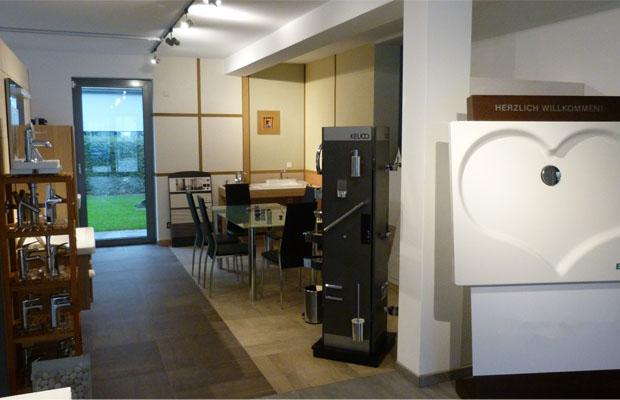 Umbau des Ausstellungsraumes in Monzigen Bad- und Heizkonzepte Ralf Reinecke von ARCHITEKT ernst meyer