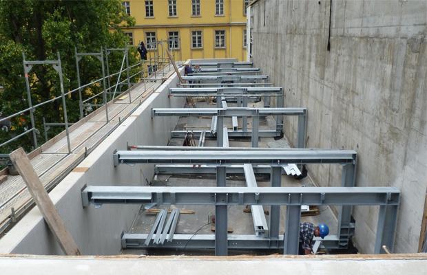 Erweiterung Umspannwerk in Frankfurt am Main durch ARCHITEKT ernst meyer