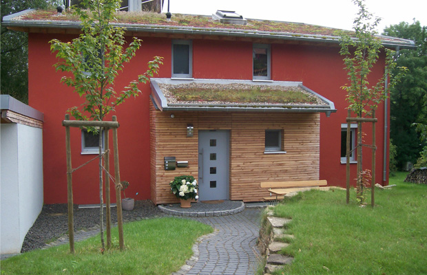 Wohnhaus Rockenhausen, Pelletsheizung unterstützt mit Solarthermie, aus Bad Kreuznach von ARCHITEKT meyer