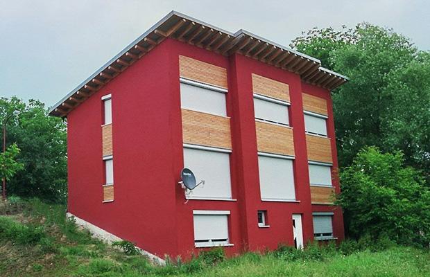 Wohnhausneubau Rockenhausen, Verbandsgemeinde Kreis Bad Kreuznach, ARCHITEKT Rockenhausen