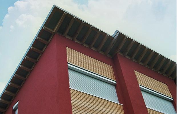 Neubau mit Solarthermie in Rockenhausen, Planungsbüro ernst meyer Firmensitz Bad Kreuznach Bosenheim