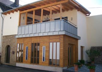 Neubau einer Vinothek, Weinhof Mayer, Bad Kreuznach Bosenheim