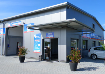Neubau Kfz-Werkstatt in Planig